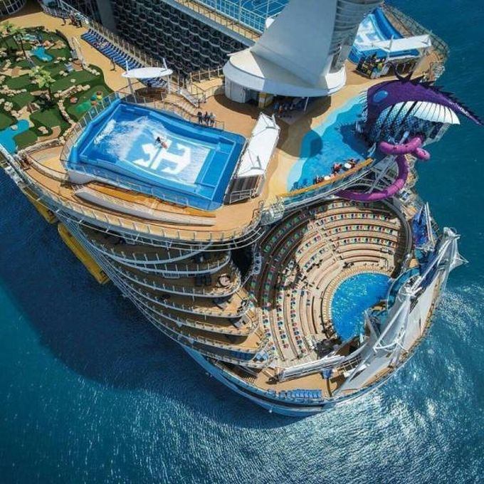 epic cruise ship water games and facilities
