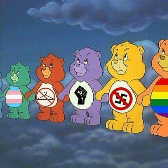 anti-hate care bears