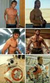 the evolution of actors, matt damon, chris hemsworth, hugh jackman