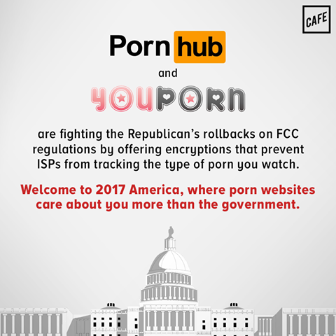 welcome to 2017 america, where porn websites care about you more than the government