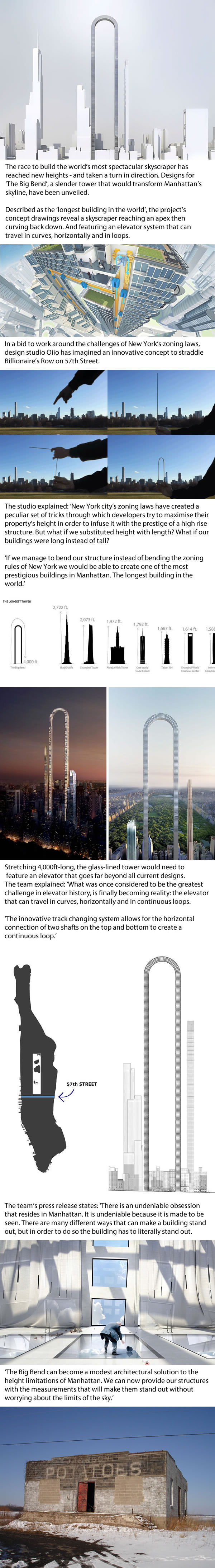 upside down u shaped skyscraper concept for new york