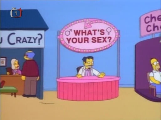 what's your sex booth, dr phil, the simpsons
