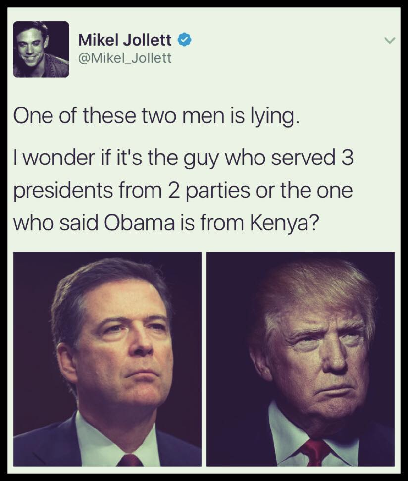 one of these two men is lying, i wonder if it's the guy who served 3 presidents from 2 parties or the one who said obama is from kenya