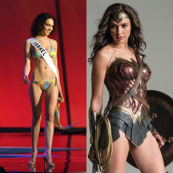 gal gadot-varsano was miss israel, wonder woman