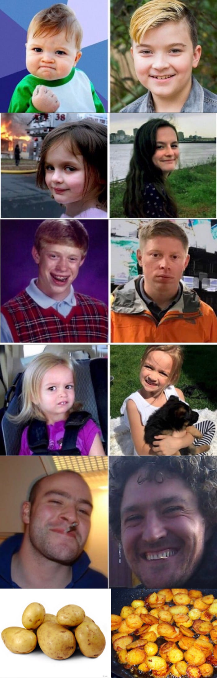 meme faces, what do they look like now