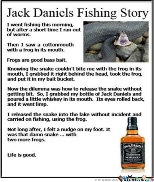 knock knock, come in!, anti chicken joke, memejack daniels fishing story