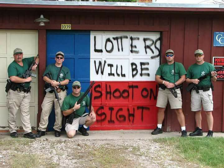 lotters will be shoot on sight, fail