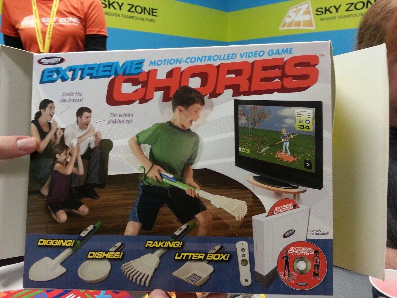 chores video game, worst game ever