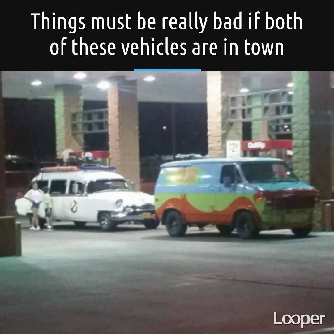 things must be really bad if both of these vehicles are in town