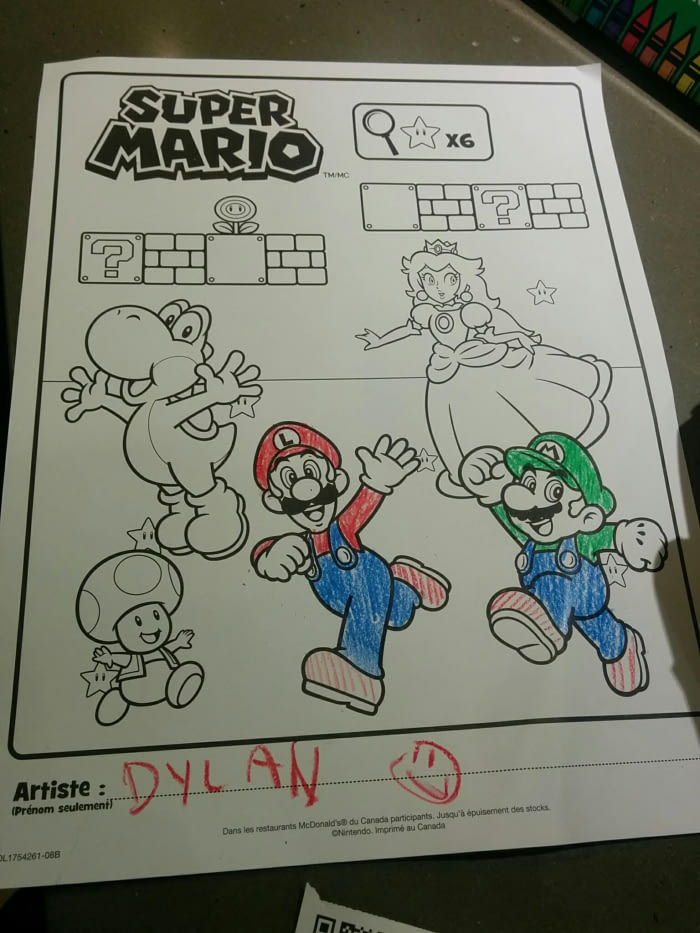 dylan is messing with our minds, green mario and red luigi