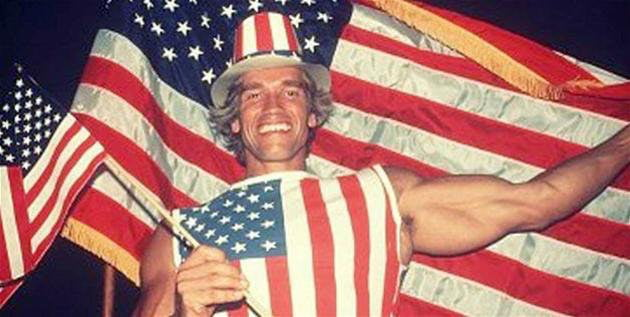 arnold schwarzenegger on the day he became an american