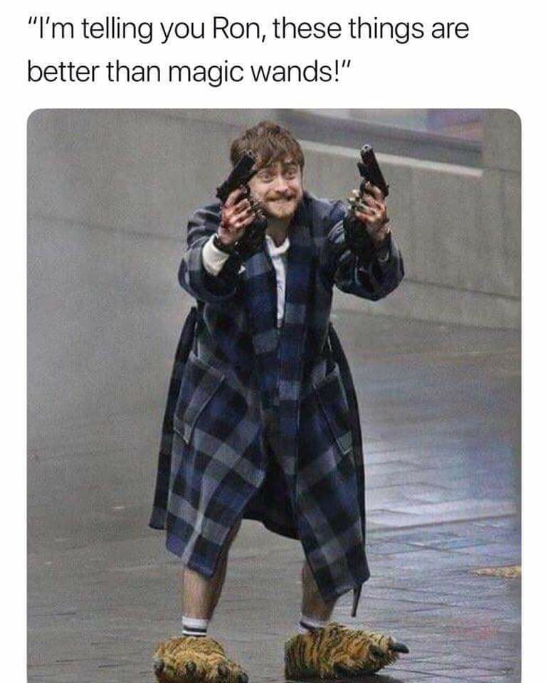 i'm telling you ron, these things are better than magic wands
