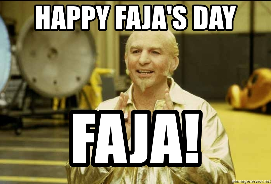 happy faja's day faja, austin powers, gold member