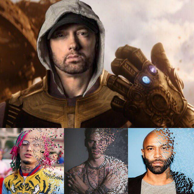 eminem as thanos