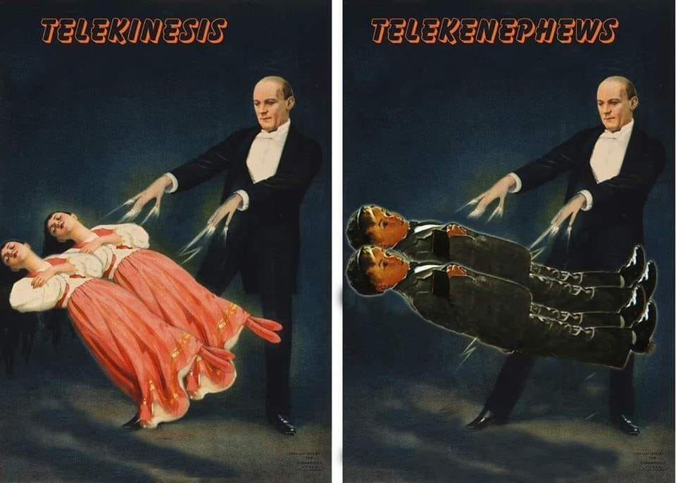 telekinesis vs telekenephews