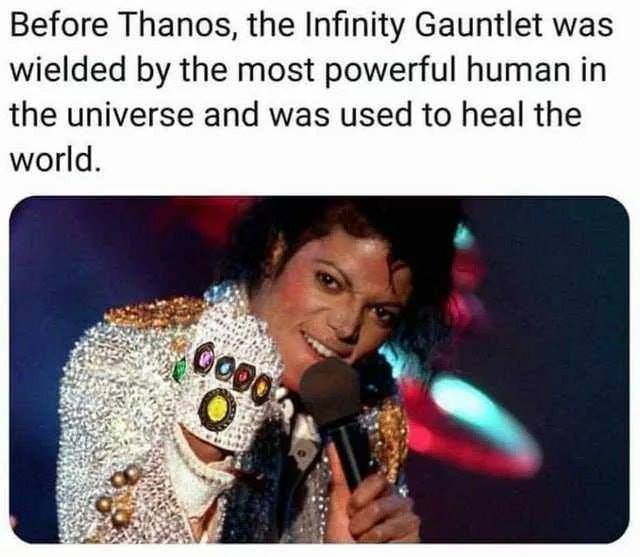 before thanos, the infinity gauntlet was wielded by the most powerful human in the universe and was used to heal the world