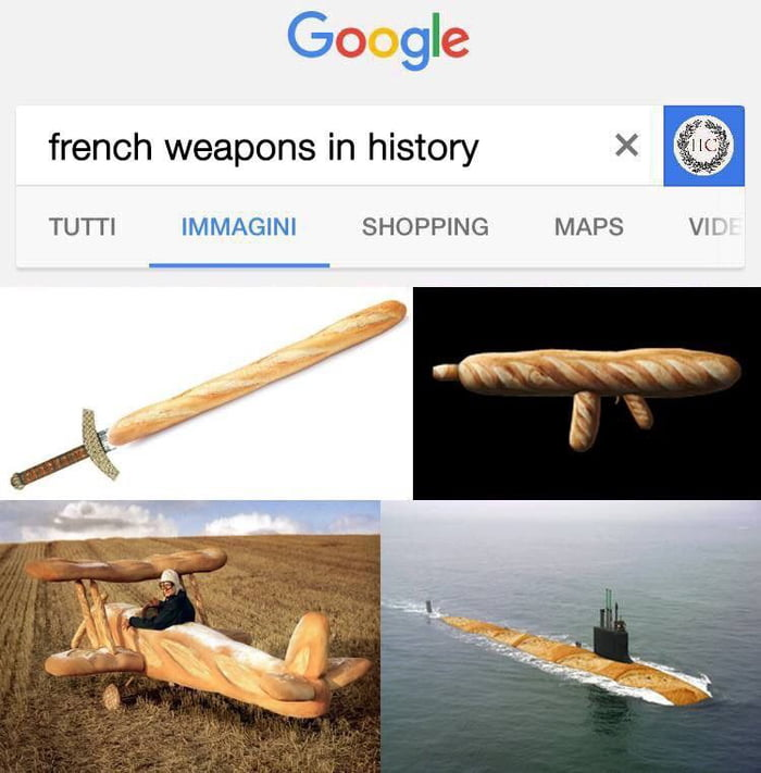 french weapons in history