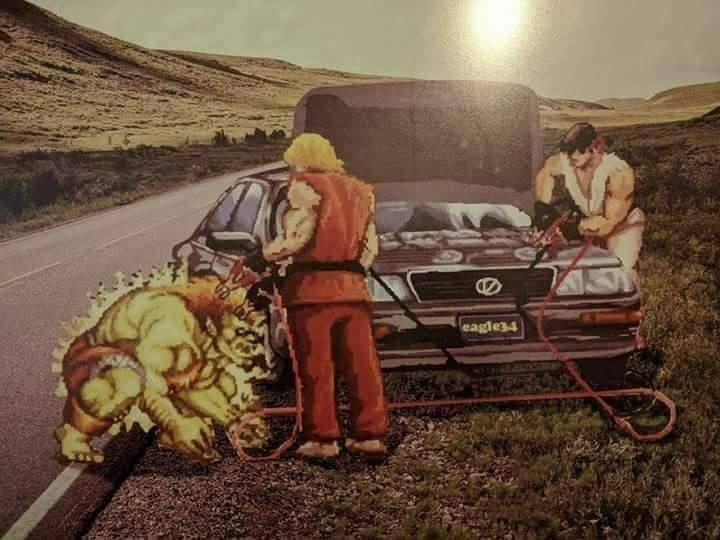Street Fighter Car Boost Justpost Virtually Entertaining