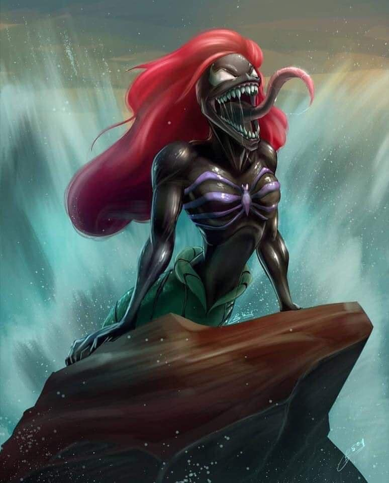 what disney should have done for the next remake, spawn as ariel, the little mermaid