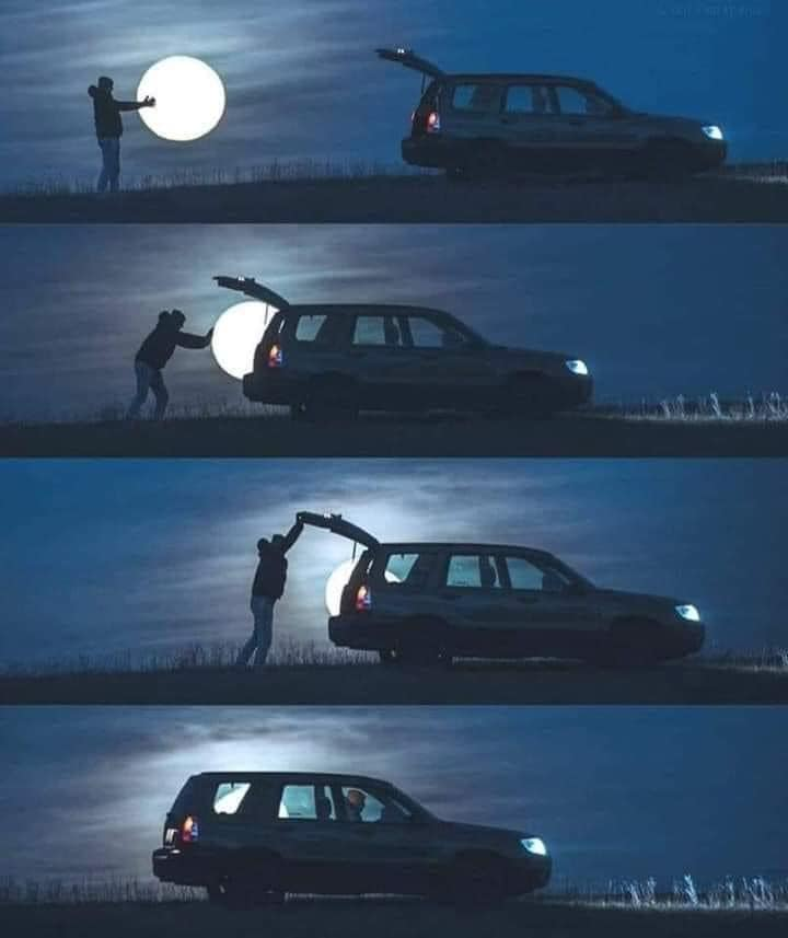 when she asks for the moon and you bring it back