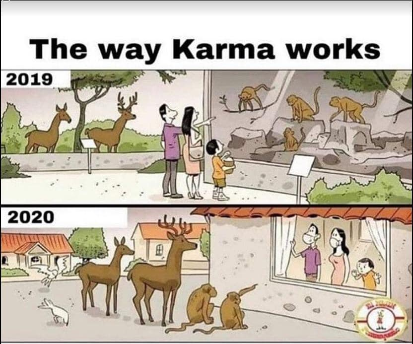 the way karma works