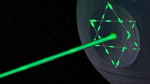 jewish space lasers, death star of david