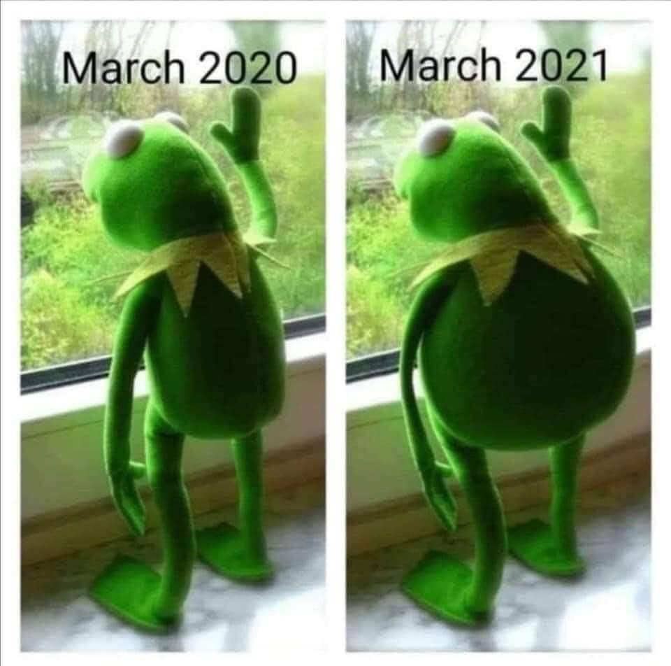 march 202, march 2021, same but fat